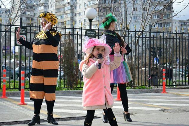 Игровая программа «Маленькая страна» на площади в Мысхако