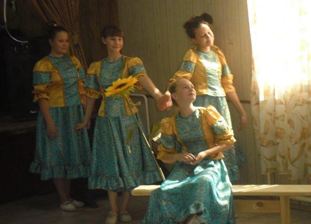 «Край казачий – родная земля!» в филиале № 4  «Клуб села Владимировка»