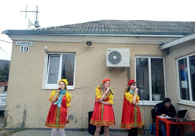 Концерт ко дню выборов президента «Мы выбираем будущее!» в Клубе села Владимировка