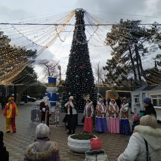 Ярмарка в парке Фрунзе